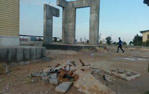 سند مظلومیت شهدای گمنام در دانشکده فنی بوشهر/ یادمانی که نیمه کاره رها شد!