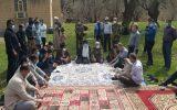 نماینده ولی فقیه خوزستان لحظه سال تحویل کجا بود؟