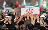 پیکر شهید امنیت در خوزستان تشییع شد